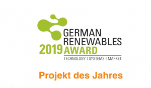 German Renewables Award 2019 – Projekt des Jahres
